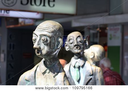 Melbourne sculpture