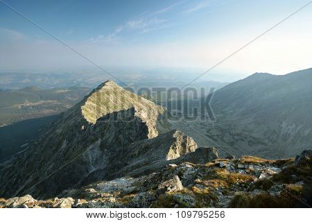 Summit in Tatra Mountains