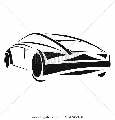 New car line icon