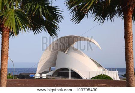 Auditorio de Tenerife in Santa Cruz de Tenerife.