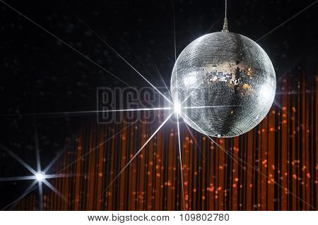 Nightclub disco ball