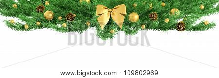 Christmas Ornament Isolated 3D Rendering