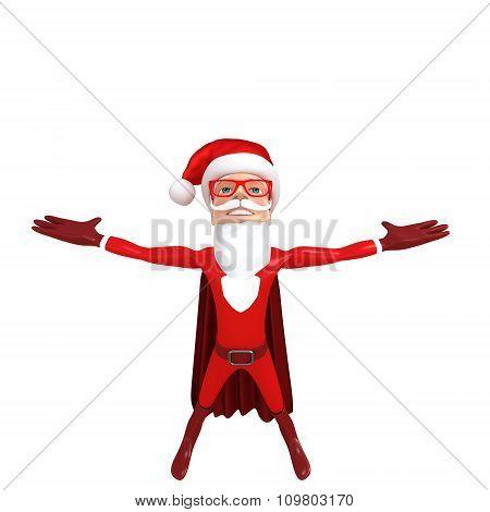 superhero a little santa
