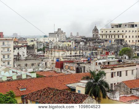 Aerial View Of Havana