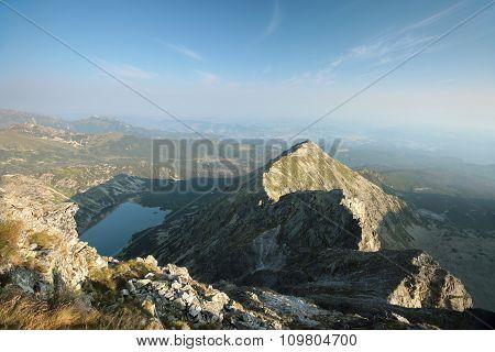 High peak in Tatra Mountains