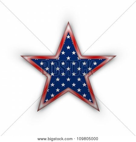 Star In National  American Colors.