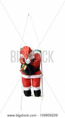 Santas Claus Isolated By Clipping Path