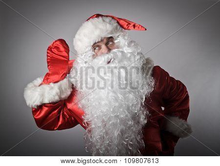 Curious Santa Claus
