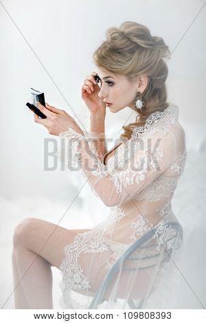 Beautiful Bride Blond