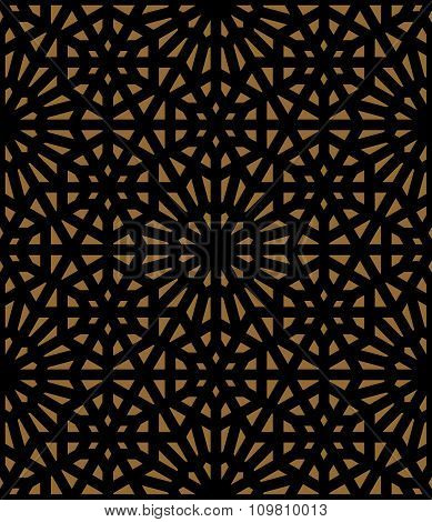 Vector abstract geometric ethnic ornament