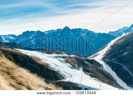 Artificial Snow Ski Area