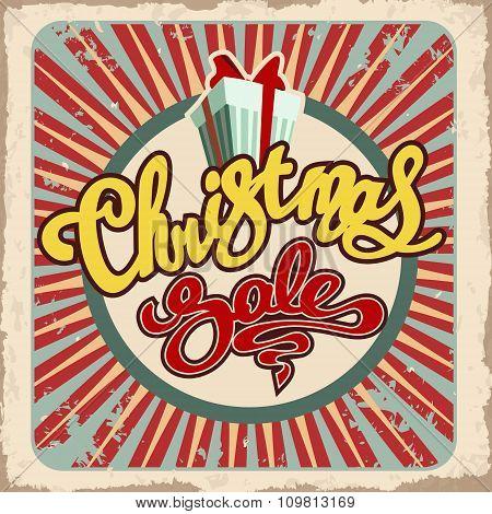 Christmas Sale Retro