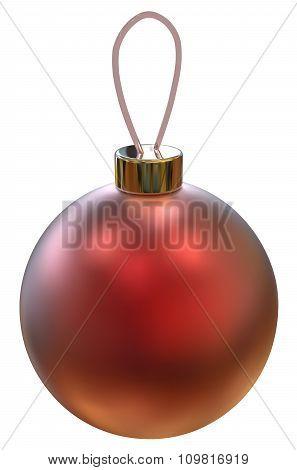 Vector Christmas Ball.