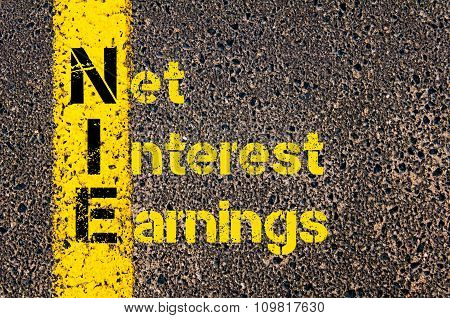 Business Acronym Nie As Net Interest Earnings