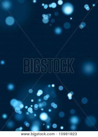 Abstract Blue Lights Background 2