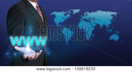 Web Internet Concept