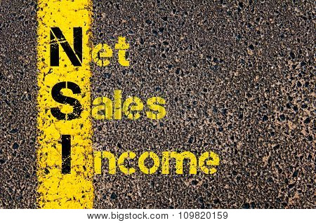 Business Acronym Nsi Net Sales Income