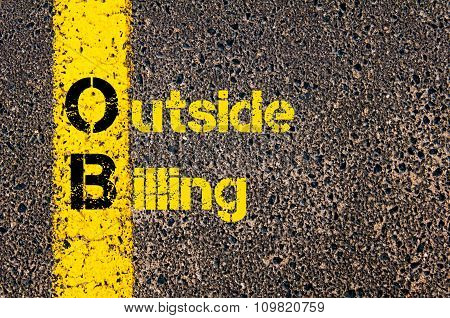Accounting Business Acronym Ob Outside Billing