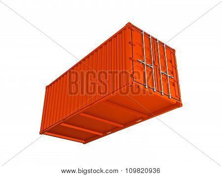Orange Sea Container