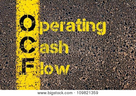 Accounting Business Acronym Ocf Operating Cash Flow