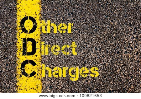 Accounting Business Acronym Odc Other Direct Charges