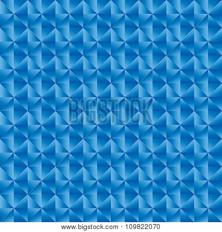 Geomatric Triangle Blue Pattern