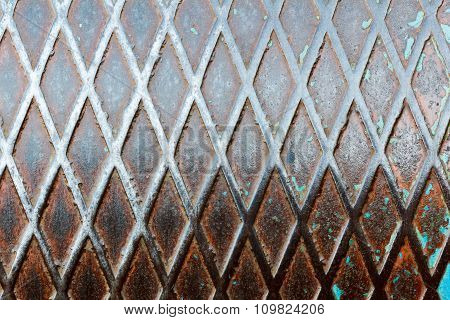Old Rusty Metal Grunge Background