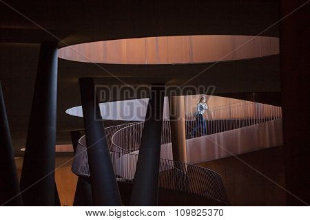 Abstract Modern Architecture Italy