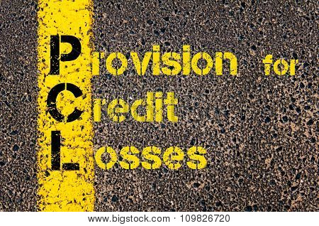 Accounting Business Acronym Pcl Provision For Credit Losses
