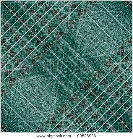 3d Network Concept Vector