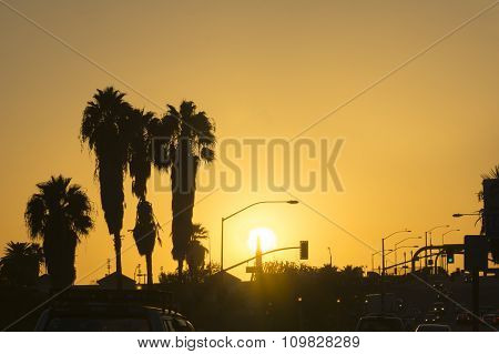 San Bernardino sunset