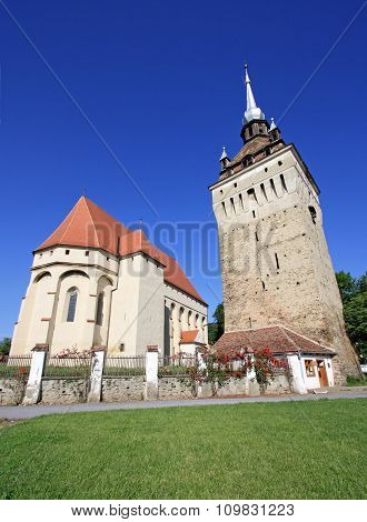 Saschiz Fortified Church.