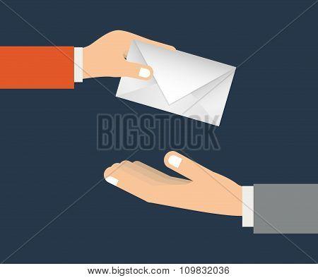send letter design
