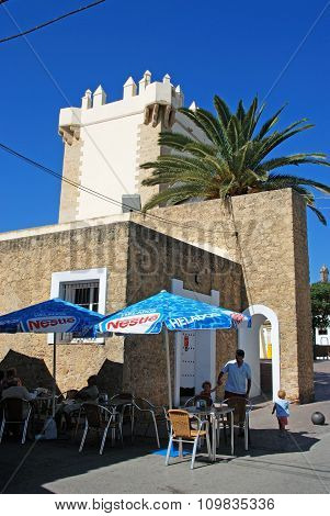 Pavement cafe, Conil de la Frontera.