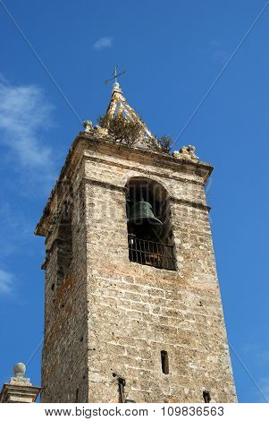 Church bell tower, Vejer de la Frontera.