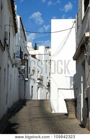 Village street, Vejer de la Frontera.