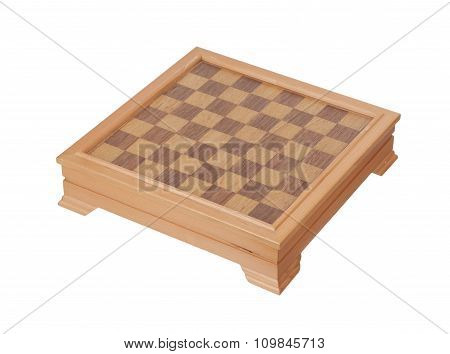 Checkers Isolated On White Background