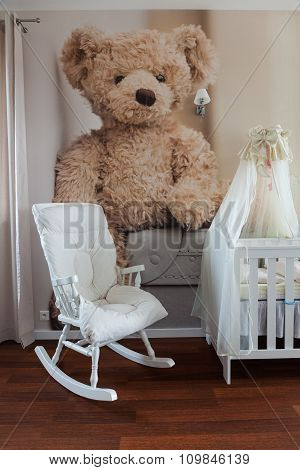 Rocking Chair In Nursery Room