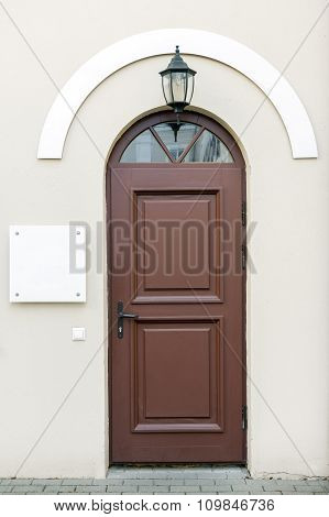 Classic Style Entrance Doors