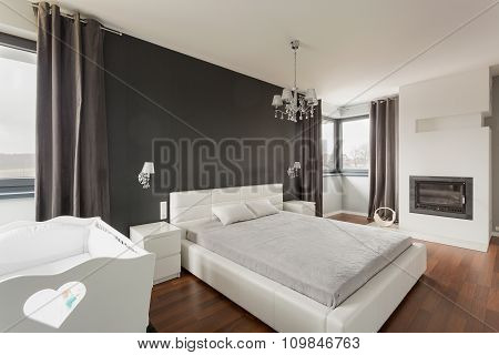 Luxurious And Spacious Master Bedroom