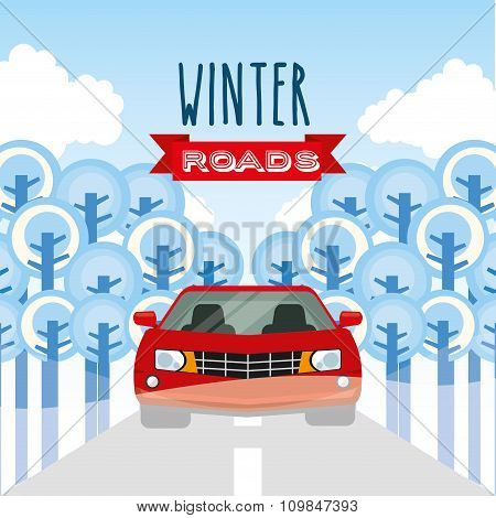 winter roads design
