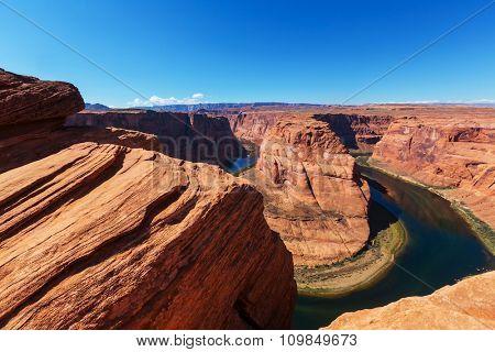 Horse Shoe Bend, Arizona, USA.