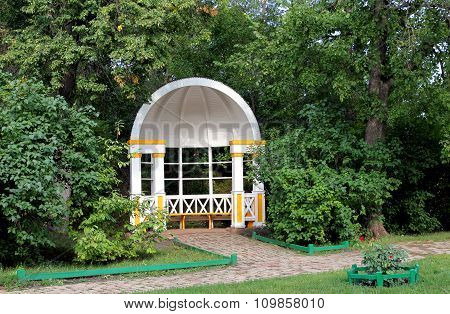 Gazebo In The Park Of The Estate Of The Family  Lermontov  In Tarkhany