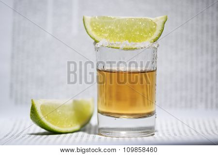 The Tequila With Lime