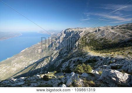 Dinaric mountains, Biokovo, Croatia