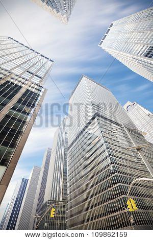 Skyscrapers In Manhattan, New York City, Usa