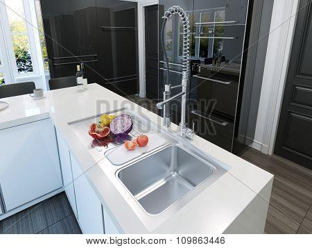 Kitchen Island Contemporary Style