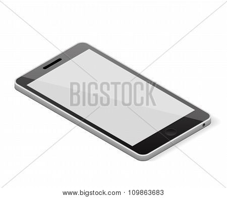 Blank screen smartphone