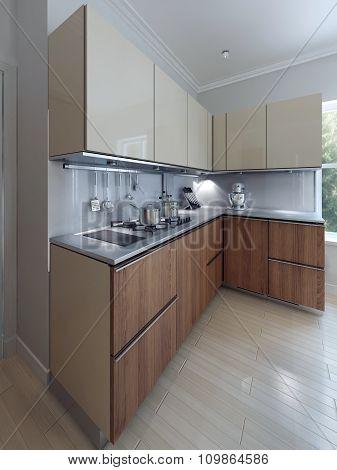 Loft Functional Kitchen Design