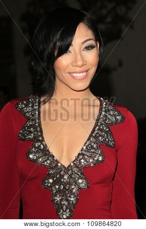 LOS ANGELES - FEB 15:  Bridget Kelly at the Make-Up Artists And Hair Stylists Guild Awards 2014 at the Paramount Theater on February 15, 2014 in Los Angeles, CA